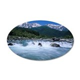 Hakuba mountain range and Ma Wall Decal