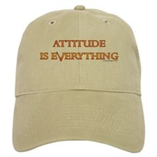 ATTITUDE IS EVERYTHING Baseball Cap