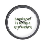 Happiness is being a RESEARCH Wall Clock