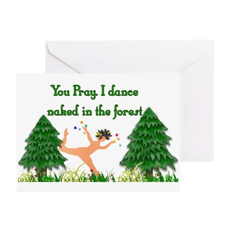 Naked Pagan Greeting Cards (Pk of 10)