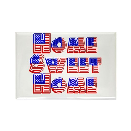 Home Sweet Home Rectangle Magnet (10 pack)