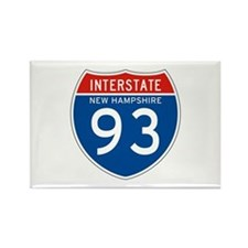 Interstate 93 - NH Rectangle Magnet (100 pack)