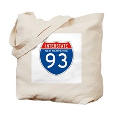 Interstate 93 - NH Tote Bag