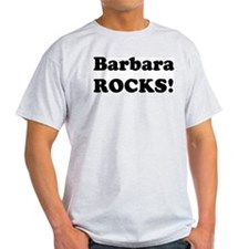 Barbara Rocks! Ash Grey T-Shirt
