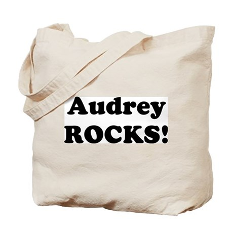 Audrey Rocks! Tote Bag
