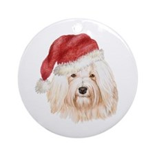 Christmas Havanese Ornament (Round)