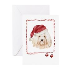 Merry Christmas Havanese Greeting Cards