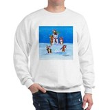 Snow Corgis III Sweatshirt