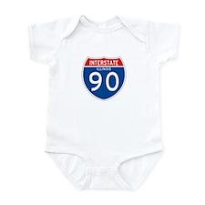 Interstate 90 - IL Onesie
