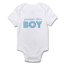 Grandpa's Little Boy Infant Bodysuit