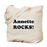 Annette Rocks! Tote Bag