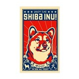 Obey the SHIBA INU! Propaganda Decal