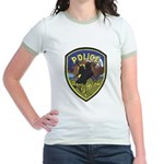 Sleepy Hollow IL PD Jr. Ringer T-Shirt