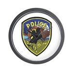 Sleepy Hollow IL PD Wall Clock