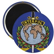 "Interpol 2.25"" Magnet (10 pack)"