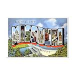 Missouri Greetings Mini Poster Print