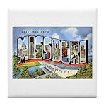Missouri Greetings Tile Coaster