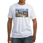 Missouri Greetings (Front) Fitted T-Shirt
