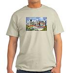 Missouri Greetings (Front) Ash Grey T-Shirt