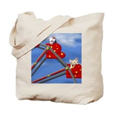 Devon Country Fair Ferris Wheel Tote Bag