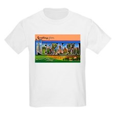 Nebraska Greetings Kids T-Shirt