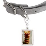 Tower made of cupcakes. Small Portrait Pet Tag