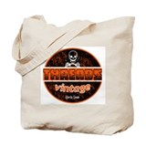 Threads vintage patch (Distressed) Tote Bag