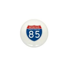 Interstate 85 - NC Mini Button (100 pack)