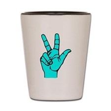 Sign Language 3 e1 Shot Glass