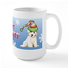Holiday Bichon Mug