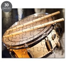 drum and drumsticks Puzzle