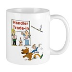 Agility Handler Cartoon Mug