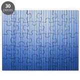 Blue corrugated iron Puzzle