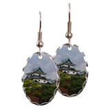 Autumn in Wakayama Castle Earring Oval Charm