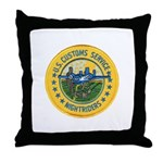 Customs Nightriders Throw Pillow