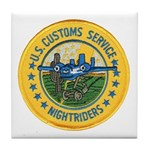 Customs Nightriders Tile Coaster
