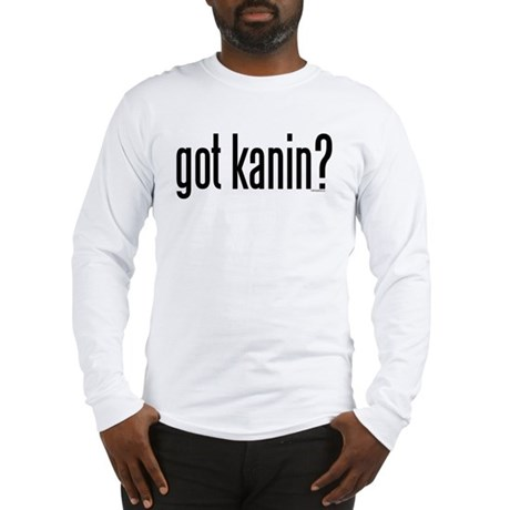 got kanin? Long Sleeve T-Shirt