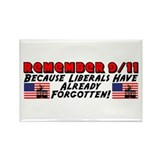 """Remember 9/11"" Rectangle Magnet"