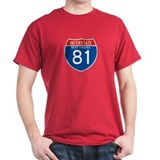 Interstate 81 - WV T-Shirt