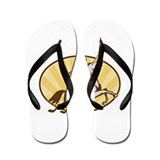Valkyrie Riding Horse Retro Flip Flops