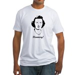 Flannery O'Connor Fitted T-Shirt