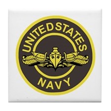 Surface Warfare Officer <BR>Tile Coaster