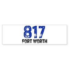 817 Bumper Bumper Sticker