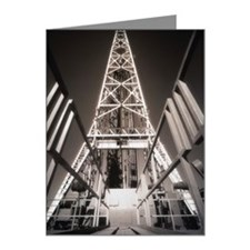 OIL WELL, DERRICK CATWALK Note Cards (Pk of 10)