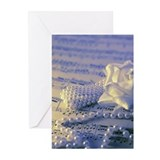 Sheet music, pearl jewel Greeting Cards (Pk of 20)