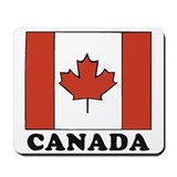 Canadian Flag Mousepad