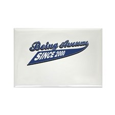 Awesome since 2000 Rectangle Magnet