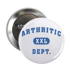 "Arthritic Dept. 2.25"" Button (100 pack)"