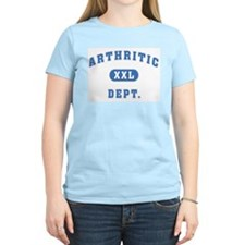 Arthritic Dept. Women's Pink T-Shirt