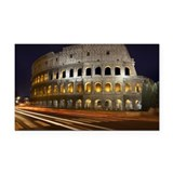 Colosseum, Rome, Italy Rectangle Car Magnet
